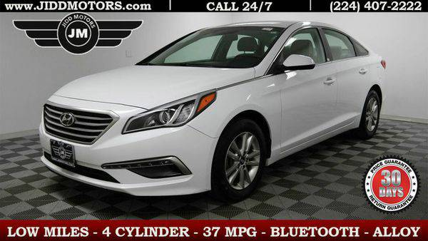 2015 *Hyundai* *Sonata* 2.4L SE - 500 Vehicles to CHOOSE from! Financi