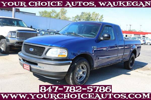 1998 *FORD* *F-150* EXTENDED CAB SB KEYLES CD ALLOY GOOD TIRES C29062