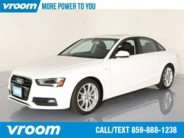 2015 Audi A4 2.0T quattro Premium Plus Sedan 7 DAY RETURN / 3000 CARS