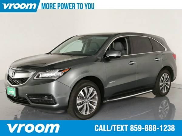 2014 Acura MDX SH-AWD w/Tech SUV 7 DAY RETURN / 3000 CARS IN STOCK