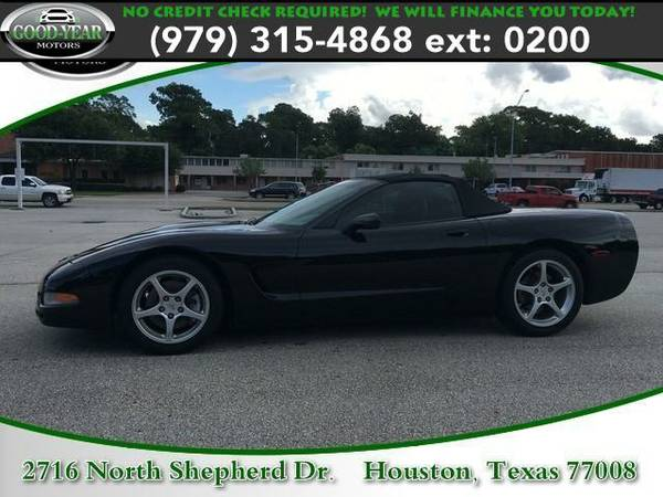 1998 *Chevrolet Corvette* NO CREDIT CHECK REQUIRED!