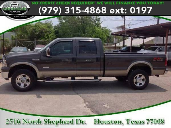 2005 *Ford Super Duty F-350 SRW* Lariat NO CREDIT CHECK REQUIRED!