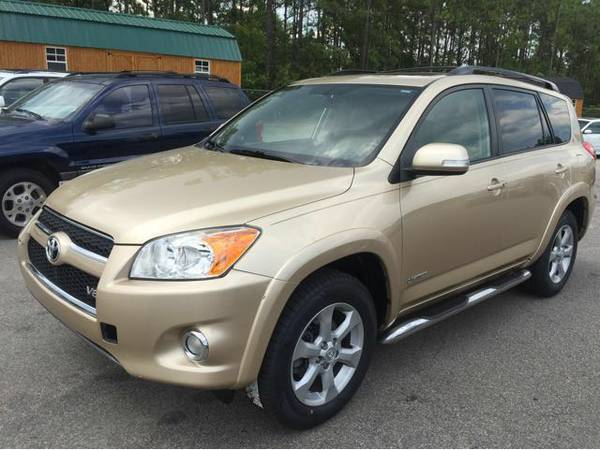 2009 Toyota RAV4 Limited Factory leather, DVD, Sunroof and Navigation