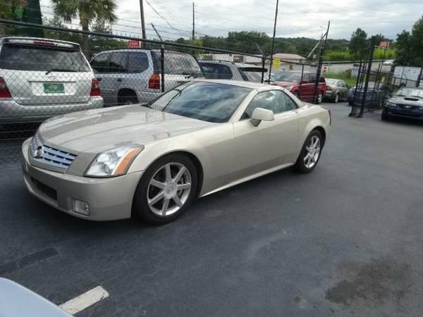 2006 *Cadillac XLR* - Gold
