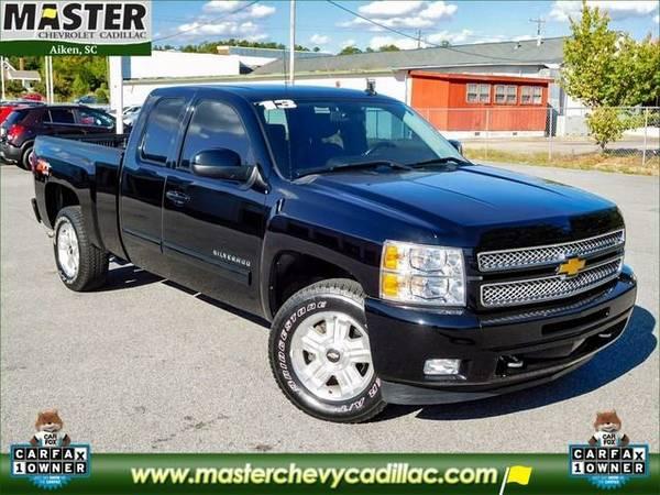 2013 *Chevrolet SILVERADO 1500* LT - (BLACK)