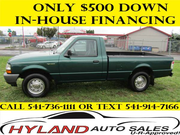 2000 FORD RANGER *3.0 V6* U-R APPROVED !!! @ HYLAND AUTO SALES !!
