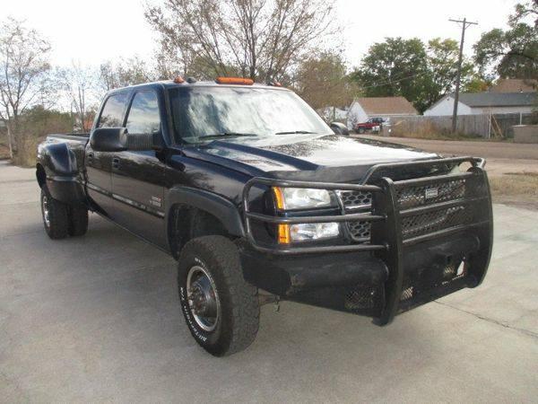 2005 *Chevrolet* *Silverado* *3500* Crew Cab 167 WB 4WD DRW LT -