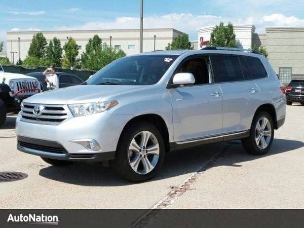 2012 Toyota Highlander Limited SKU:CS061009 SUV