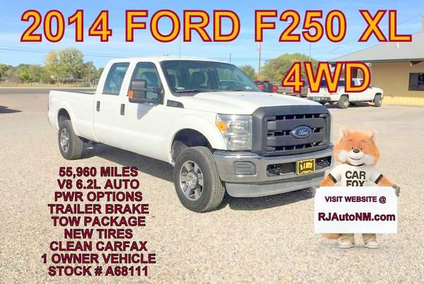 2014 FORD F250 XL #A68111