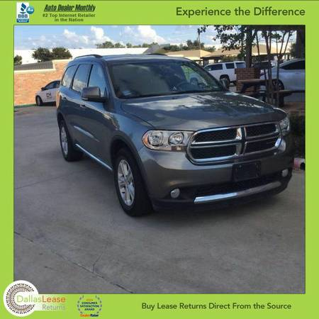 2011 *Dodge* *Durango* Crew AWD *Online Approval!**Bad Credit* OK!