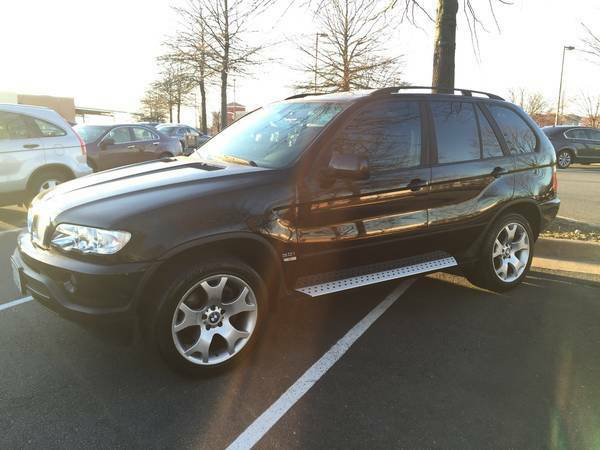 BMW X5 - BLACK ON BLACK!