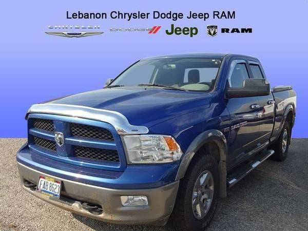 2011 *Dodge Ram 1500* SLT (Midnight Blue Pearlcoat)