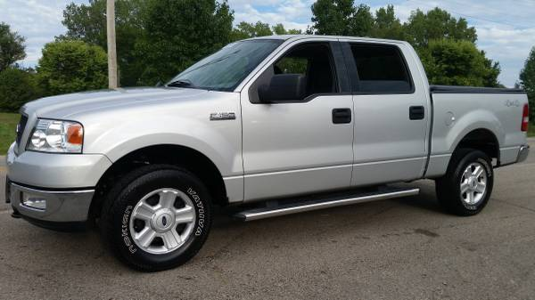 05 FORD F150 SUPERCREW 4WD XLT - AUTO, AIR, LOADED, NICE CLEAN TRUCK