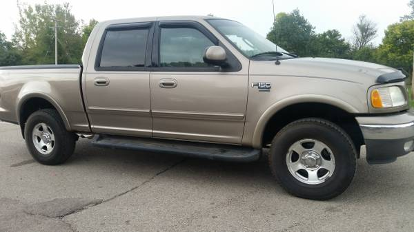 03 FORD F150 SUPERCREW 4WD - AUTO, AIR, LOADED, RUNS GREAT, RUST FREE