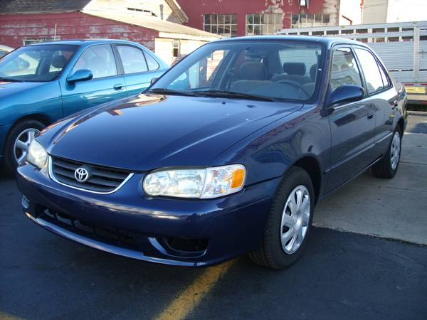**2002 TOYOTA COROLLA**90 DAY 4500 MILE WARRANTY FINANCING AVAILABLE