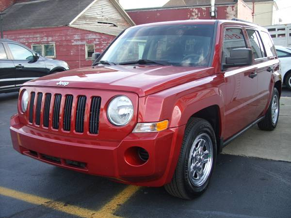 **2008 JEEP PATRIOT **4X4**LEATHER**FREE 90 DAY 4500 MILE WARRANTY