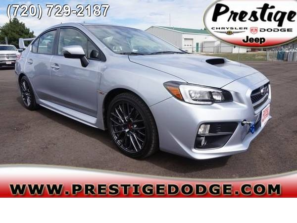 2016 Subaru WRX STI STI2.5T 2.5L Turbo CARFAX One Owner 16