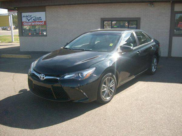 2016 *Toyota* *Camry* SE 4dr Sedan - Call or TEXT! Financing Available