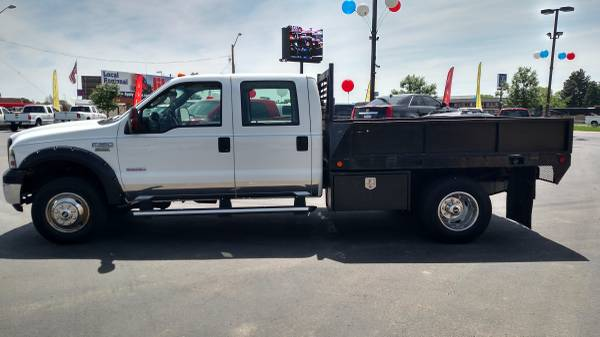 2006 Ford F350 CrewCab 4X4 Diesel FlatBed Cold AC Runs Great