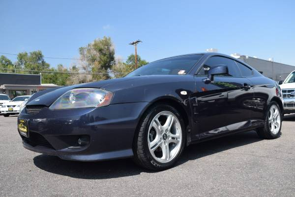 EZ FINANCING! DRIVE TODAY! 2006 HYUNDAI TIBURON -3 YEAR Warranty Inc