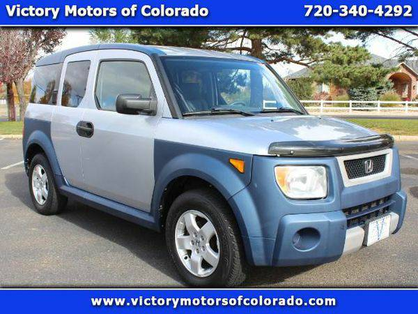 2005 *Honda* *Element* EX 4WD 5-spd MT - Over 500 Vehicles to Choose F