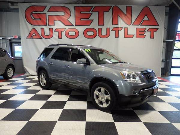 2007 GMC Acadia SLT AWD HEATED LEATHER ROOF REAR DVD BOSE