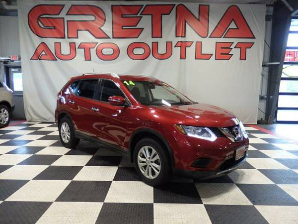 2014 Nissan Rogue S AWD 1 OWNER ONLY 44K BLUETOOTH BACK UP CAM