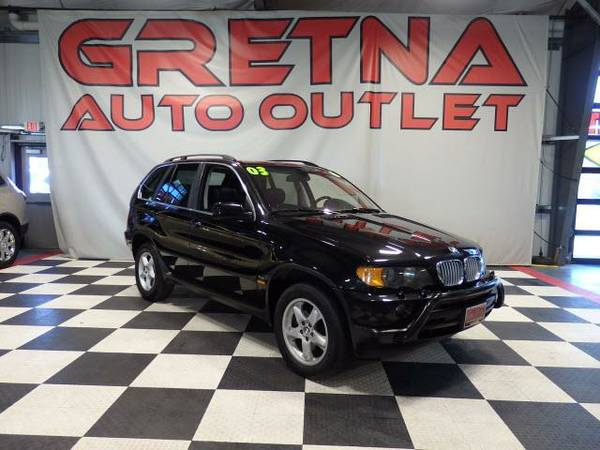 2003 BMW X5 4.4i AWD BLACK ON BLACK LEATHER ROOF LOADED