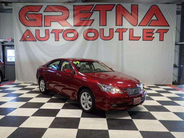 2009 Lexus ES 350 35K HEATED-COOLED LEATHER MOONROOF 1 OWNER