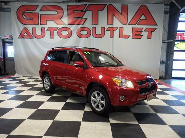 2011 Toyota RAV4 LIMITED AWD 1 OWNER HEATED LEATHER JBL MOONROOF