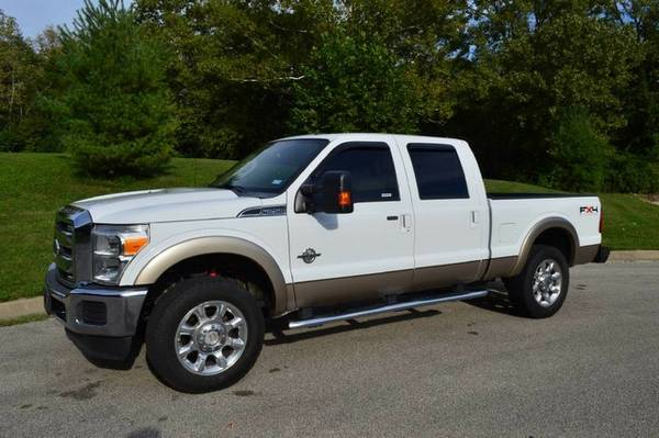 2011 Ford Super Duty F-250 Lariat Diesel 4x4