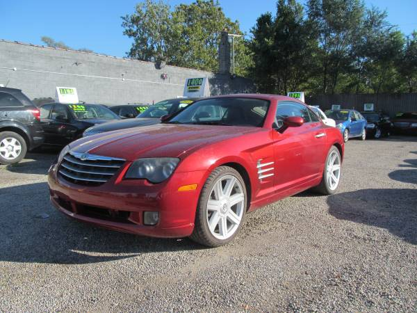 2004 CHRYSLER CROSSFIRE NICE BUY HERE PAY HERE ( 2400 DOWN PAYMENT )
