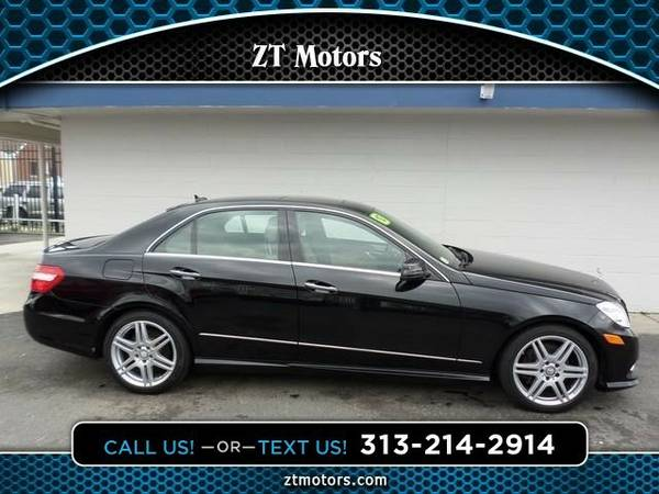 2010 Mercedes-Benz E350 Sedan 4MATIC Sedan E350 Mercedes-Benz