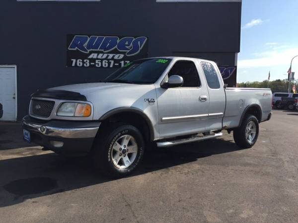 2002 F150 Extended Cab FX4 with Sunroof