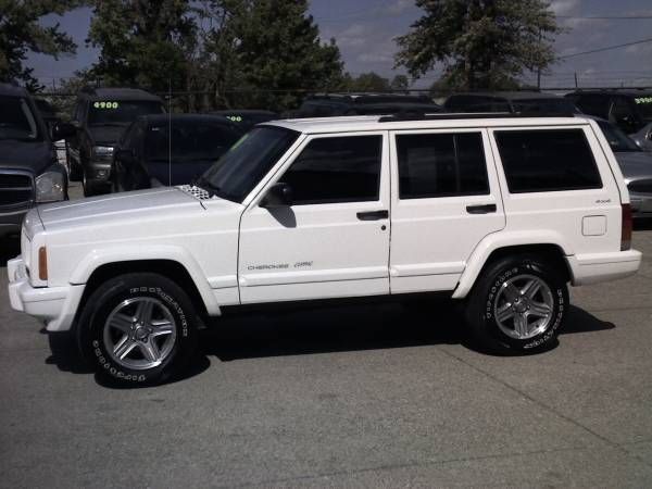2001 Jeep Cherokee Classic 4x4