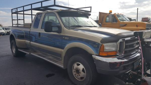 2000 Ford F-350 XLT Super Cab Dually w/ Newer MVP Plow