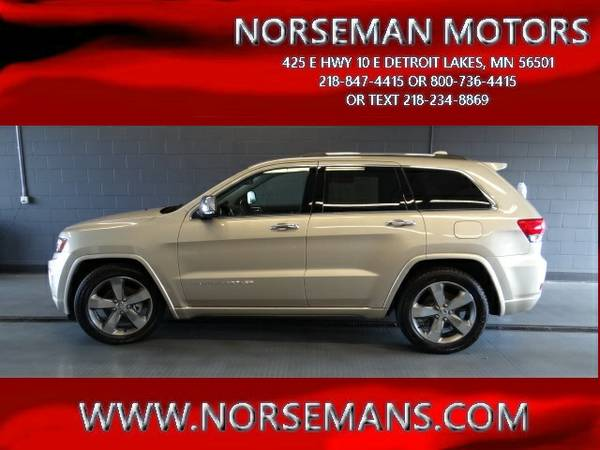 2014 JEEP GRAND CHEROKEE 4WD/OVERLAND (5526A)