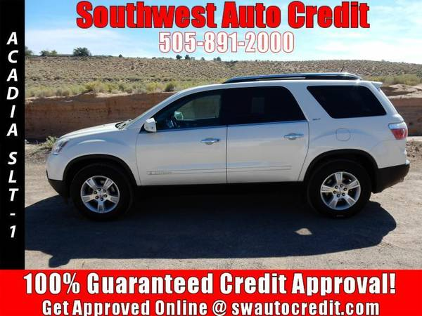 2008 GMC Acadia SLT-1 AWD 4dr SUV *IN HOUSE FINANCING*
