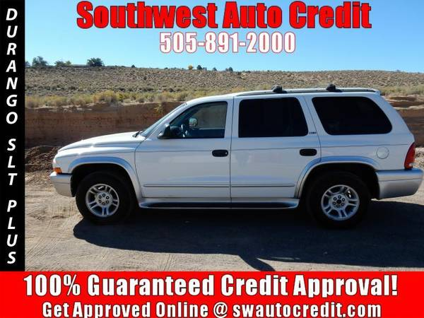 2002 Dodge Durango SLT Plus 2WD 4dr SUV *IN HOUSE FINANCING*