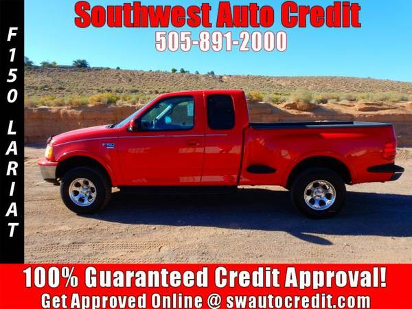 1998 Ford F-150 Lariat 3dr 4WD Extended Cab Stepside SB *IN HOUSE...