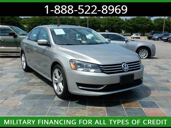 2014 VOLKSWAGEN PASSAT SE --MILITARY $O DOWN FINANCING!_ALL CREDIT OK