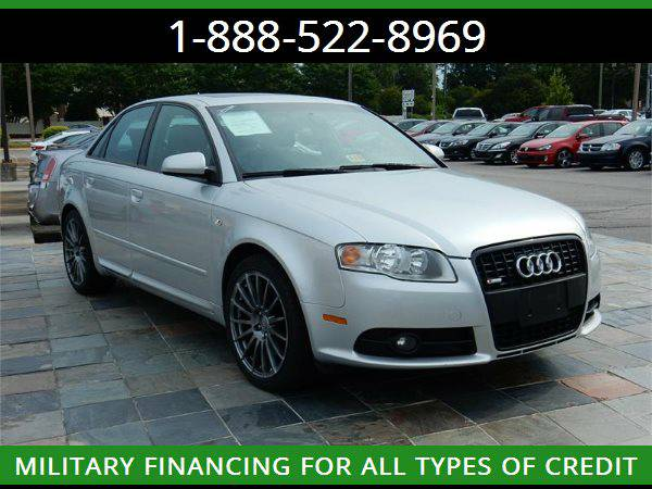 2008 AUDI A4 S2.0T TURBO --MILITARY $O DOWN FINANCING!_ALL CREDIT OK