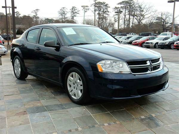 2014 DODGE AVENGER SE, Blue--GREAT DEALS FOR FT BRAGG! ZERO DOWN !!