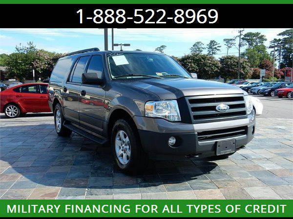 2013 FORD EXPEDITION EL XL --MILITARY $O DOWN FINANCING!_ALL CREDIT OK