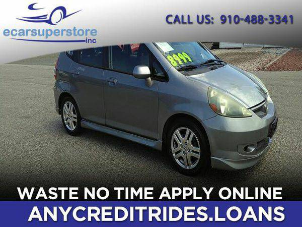2007 *Honda* *Fit* Sport 5-Speed AT You're Approved or Car is *Fre