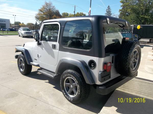 2004 Jeep Wrangler*Columbia Edition*6 Cylinder*5Speed*
