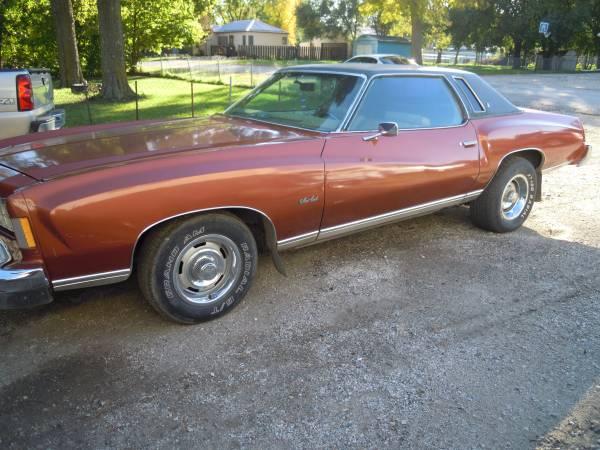 1975 Monte Carlo $5000 obo