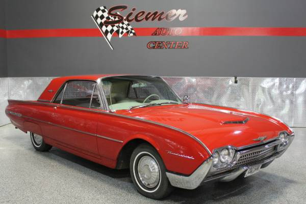 1962 Ford Thunderbird 2-Door Sedan - TEXT US