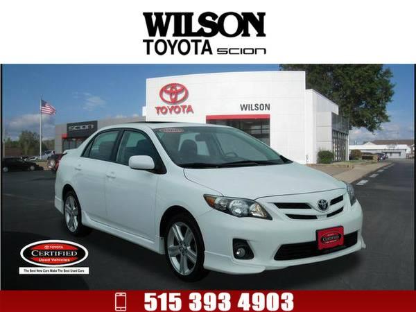 *2013* *Toyota Corolla* *S* White
