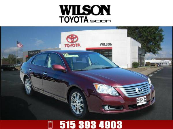 2009 Toyota Avalon Limited Dk. Red